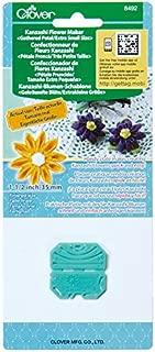 CLOVER 8492 Kanzashi Flower Maker Gathered Petal Quilt Pattern, X-Small