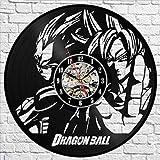 qweqweq Dragon Ball Z Wanduhr Modernes Design Kreative
