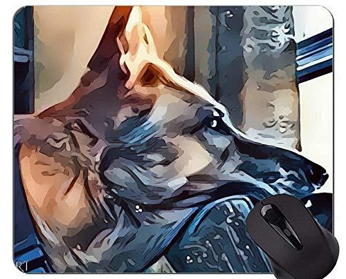 Australische Schäferhund-Welpen-Mausunterlage Mousepad, Schäferhund-Mausunterlagen