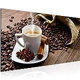 Wandbilder Küche Kaffee 1 Teilig Modern Vlies Leinwand