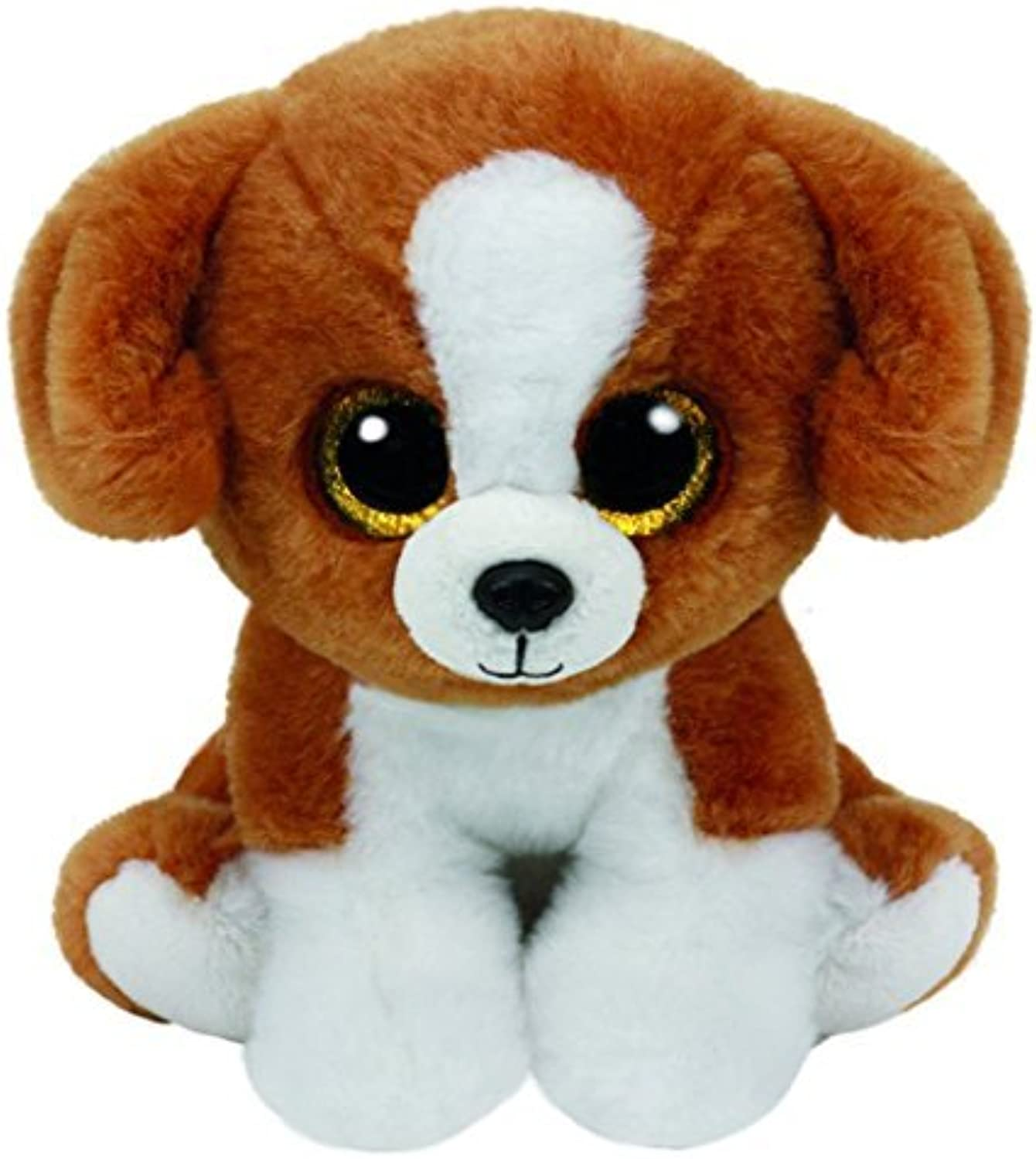 Ty Beanie Babies Snicky  Brown & White Dog by Ty Beanie