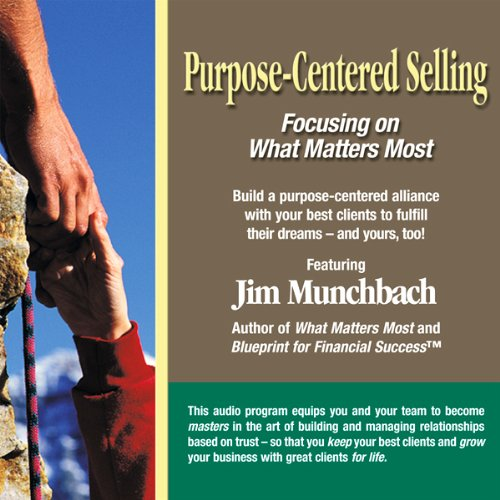 Purpose-Centered Selling audiobook cover art