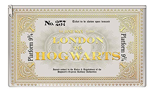 Harry Potter - Hogwarts - Express Ticket - Federmäppchen - Grösse 23x11x1 cm