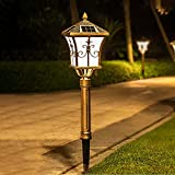Lamparas Solares para Jardin lámpara de césped solar Luces...