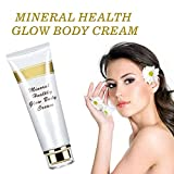 Volcanic Mud Body Cream - Deep Sea Mud Shower Gel,Whole Body Wash Whitening Deep Clean Skin Moisturizing Exfoliating Body Care Bath Gel,Smoothen & Hydrate Your Skin