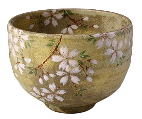 Best Review Of KIYOMIZU Ware Matcha Bowl (Wooden Box) SAKURA