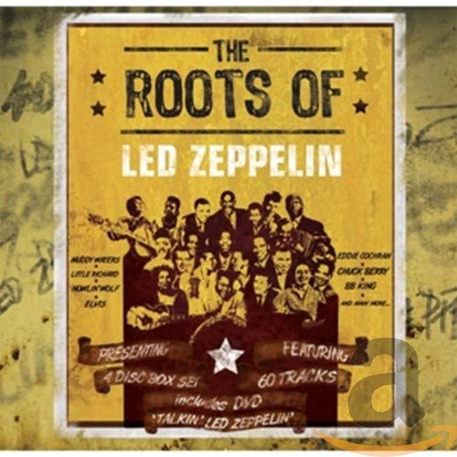 The Roots of Led Zeppelin/3cd+Dvd