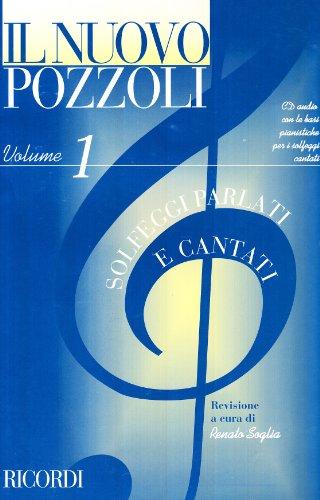 Il Nuovo Pozzoli Vol.1 (Solfeggi Parlati E Cantati) Metodo + CD