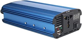 Leaftree 4000W Peak DC 12V to AC 220V Anti-Reverse Connection Solar Power Inverter Converter USB Output Stable,Blue