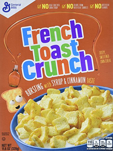 General Mills French Toast Crunch 11.2oz(328g) 1er box
