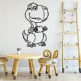 Tianpengyuanshuai Dinosaure Stickers muraux décoration de la Maison Ornements étanche Stickers muraux Autocollants décoratifs Salon 108X38 cm