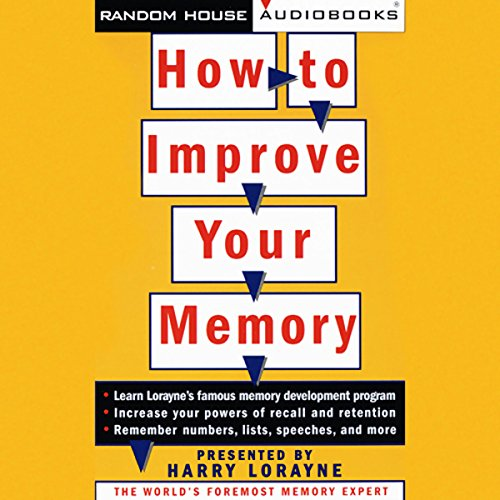 How to Improve Your Memory audiobook cover art