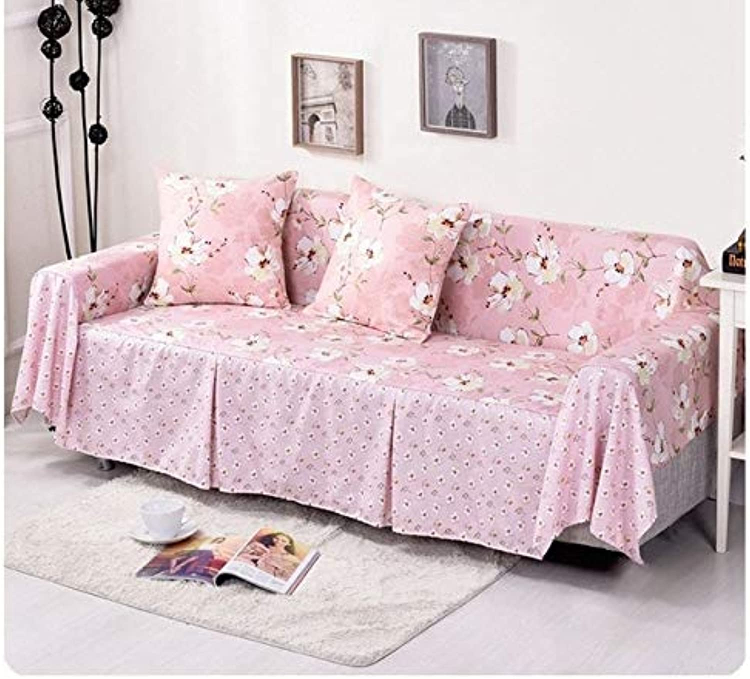 Cotton Sofa Towel Single Two Three Four-Seater Sofa Covers Slip-Resistant Plaid Couch Cover for Living Room Sofa Bed Home Decor   05, 200x200cm