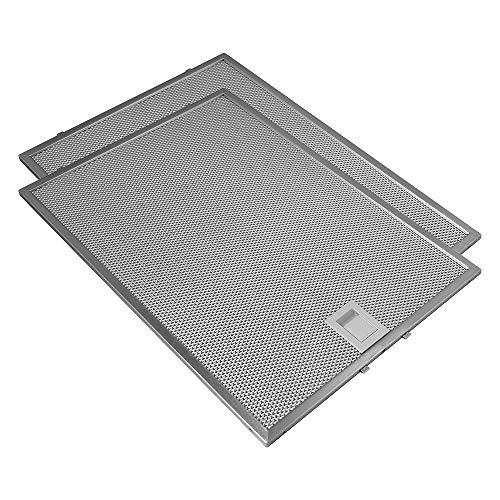 Geeignet für Bosch / Siemens (2 St.) Metallfilter von AllSpares 703451