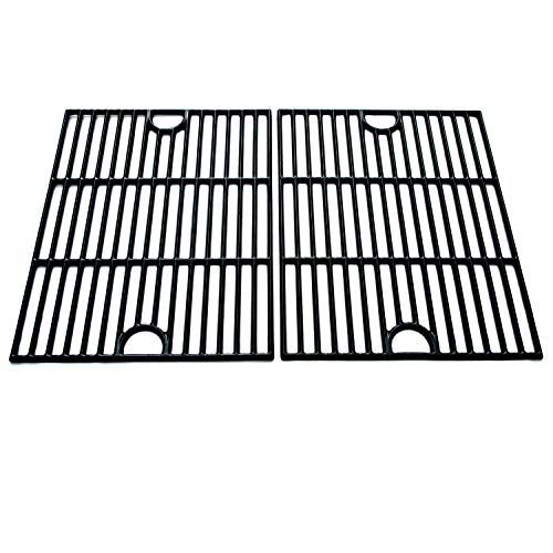 Direct Store Parts DC104 Polished Porcelain Coated Cast Iron Cooking Grid Replacement for Uniflame, K-Mart, Nexgrill, Uberhaus Gas Grills