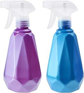 Saim 500ml Water Spray Bottles for Cleaning Gardening Feeding Hairdressing Portable Plastic Adjustable Nozzle Manual Trigg...