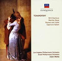 Tchaikovsky: 1812 Overture / March Slave / Romeo by MEHTA / LOS ANGELES SYM ORCH (2000-02-28)
