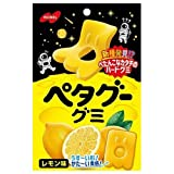 ノーベル製菓 ペタグーグミ レモン 50g×6袋入×(2ケース)