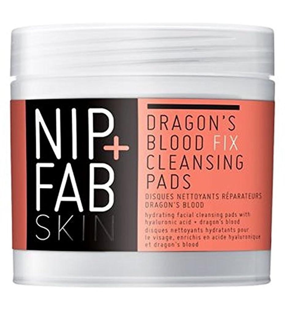 パッド不要石化するNip+Fab Dragons Blood Fix Pads 80ml - +ファブ竜の血修正パッド80ミリリットルニップ (Nip & Fab) [並行輸入品]