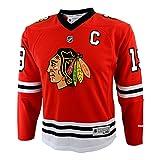 NHL Chicago Blackhawks Youth Boys 8-20 Toews J Blackhawks Player Replica Jersey, Large/X-Large, Red