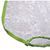 BAMBINIWELT Regenschutz, Regenhaube für Kinderfahrradsitze, Wetterschutz für Fahrrad-Kindersitze (grün) XX