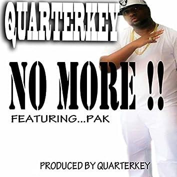 No More!! (feat. Pak)