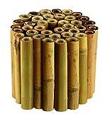 Gardman 09270 Rouleau de Bordure en Bambou 30 x 100 cm