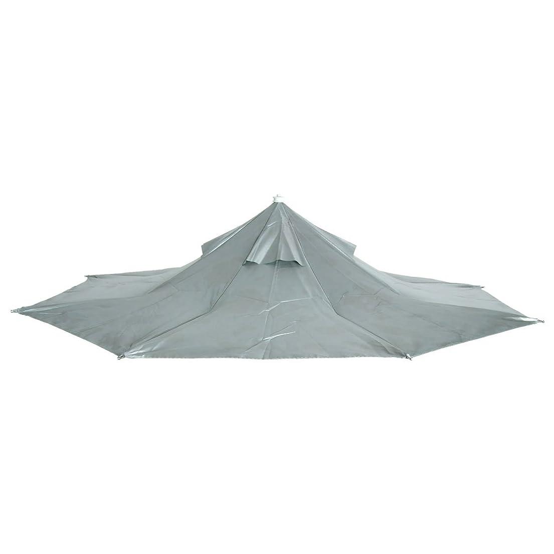 構造間違っている船尾uxcell 釣り傘 傘帽子 釣り用 ヘッドバンド ヘッドキャップ 新しい 迷彩 折りたたみ