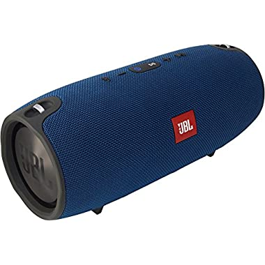 JBL Xtreme Portable Wireless Bluetooth Speaker (Blue)
