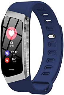 BD.Y Monitor de sueño Impermeable de podómetro de 1 Pulgada Rastreador de condición física de Contador de Pasos con rastreador GPS Conectado (Color: Dorado)