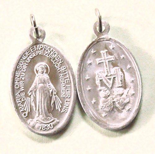 Wundertätige - wunderbare Medaille Mutter Gottes 10er-Pack
