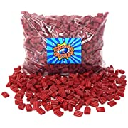 CrazyOutlet Pack - Twizzlers Cherry Bites Candy, Red Licorice Bite Size Chewy Candy, Bulk Pack, 2 Lbs