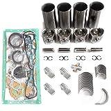 Kit de reconstrucción del motor 3044T 3044C-T 3044C-DIT – Kit de juntas SINOCMP para 236B 246C, 3 meses de garantía