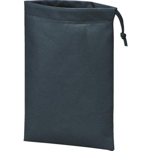 トラスコ TRUSCO 不織布巾着袋10枚入 黒 420X330X100MM