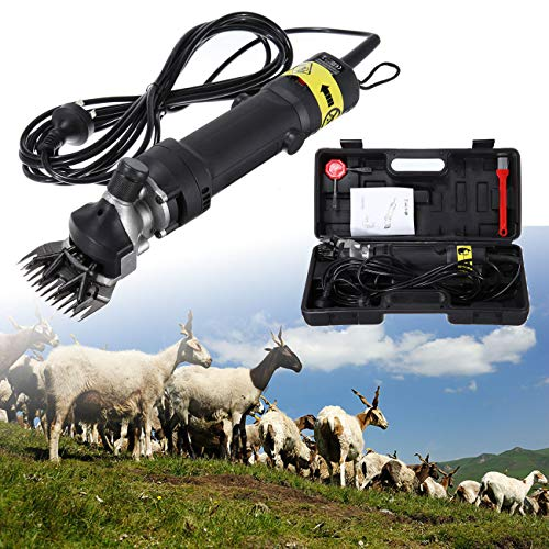 Ridgeyard Electric Farm Supplies Animal Grooming Shearing Clipper Sheep Goat Shears for Livestock Farm Supplier (320)