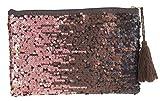 Camomilla Milano-borsa pochette a mano splendid bronzo