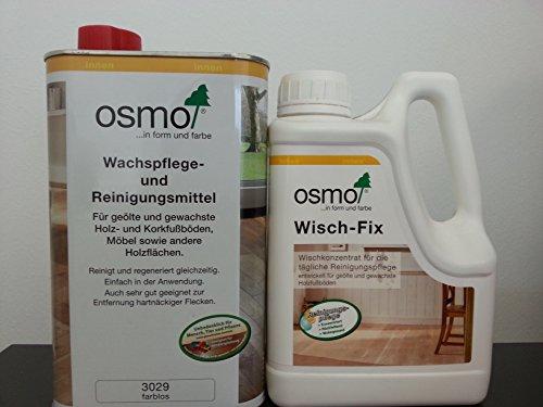 Osmo Angebots-Set - Inhalt 1L Wischfix und 1L Wachspflege Farblos 3029 - Aktion!!!