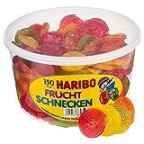 Haribo Rotelle alla Frutta, Caramelle Gommose, Dolciumi, 150 Pezzi, 1200g