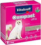 Vitakraft 14031 Litire Compact Ultra pour chat 8 kg