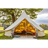 Bell Tent 5 metre with Stove Hole by Bell Tent Boutique