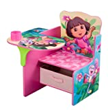 Nickelodeon's Dora Chair Desk with Pull out under the Seat Storage Bin