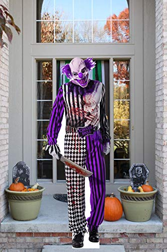 Aahs!! Scary Cardboard Cutout Life Size for Halloween Decorations | Haunted House Standup Decor with Mannequins…