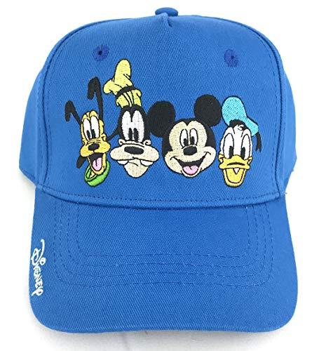Disney Youth Crazy 4 Mickey Goofy Donald Pluto Baseball Hat, Multi