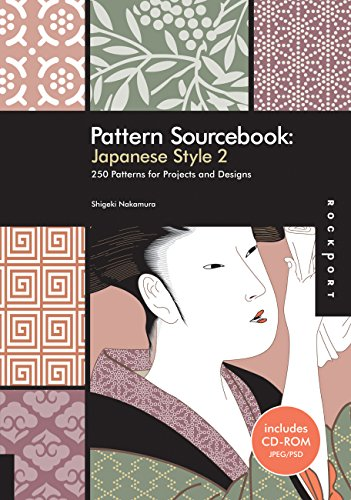 Pattern Sourcebook: Japanese Style 2: 250 Patterns for Projects and Designs (v. 2)