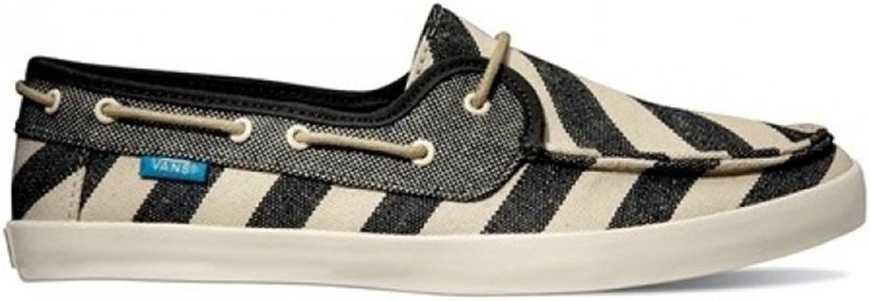 Vans Womens Chauffette Stripes Comfort Boat shoes