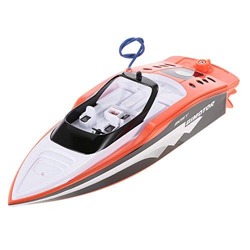 Izzya Mini Ferngesteuerte Boote RC Boot Motorboot Ferngesteuert High Speed Boot mit Funkfernsteuerung Batteriebetrieben Spielzeug für Kinder