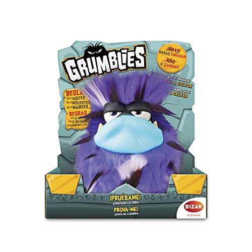 grumblies – Bolt Plush Electronic, Purple (Bizak, S.A. 63341891 _ 1)