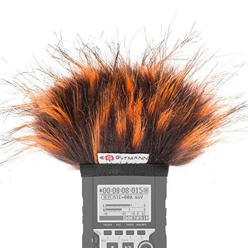 Gutmann Mikrofon Windschutz für Zoom H4n / H4nSP / H4n Pro Sondermodell FIRE limitiert