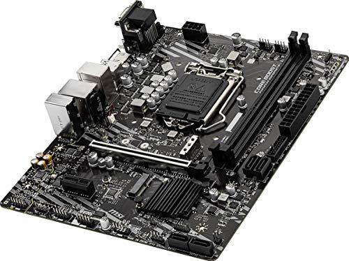 MSI H410M PRO mATX Mainboard Sockel 1200 M.2/HDMI/DVI/VGA/USB3.2(Gen1)
