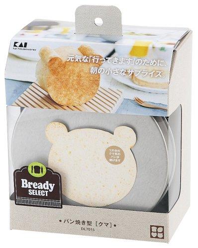 貝印KAIパン焼型BrreadySELECTクマ日本製DL7015